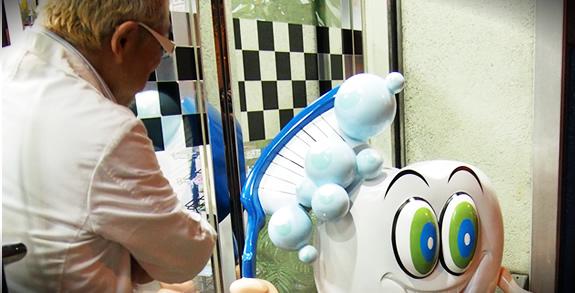 高木歯科医院マスコットキャラクター制作状況